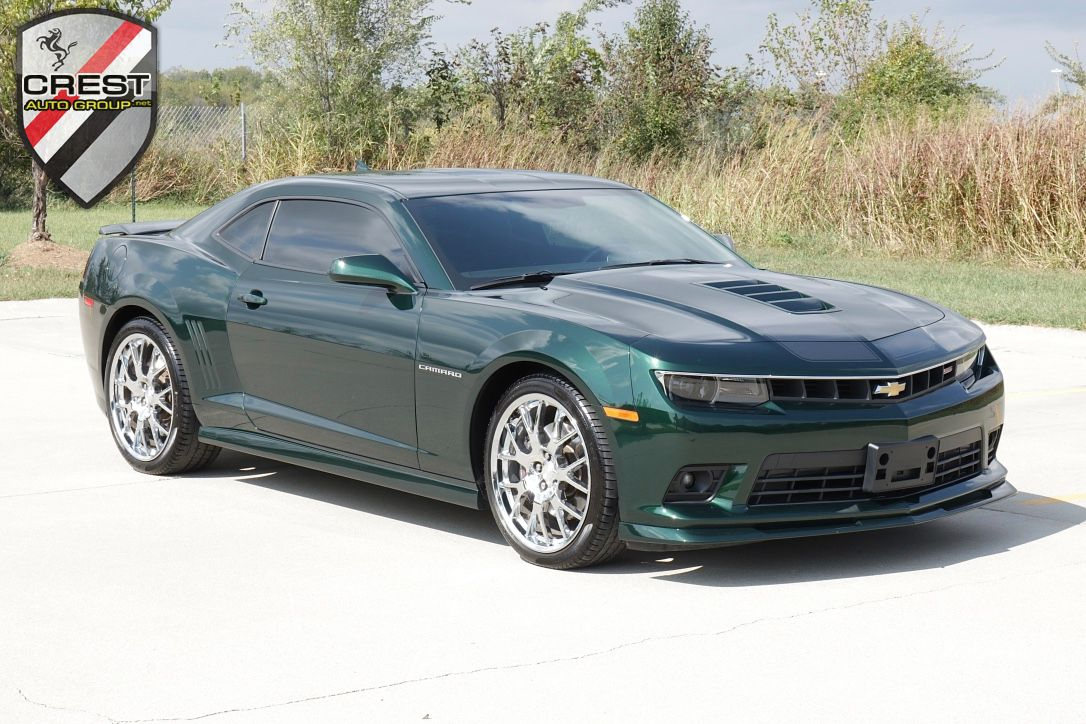 2015 Chevrolet Camaro Green Flash Edition 21