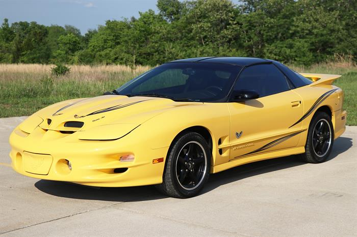 2002 Pontiac Firebird Trans Am Collectors Edition