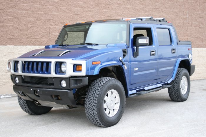 2006 HUMMER H2 Pacific Blue Special Edition SUT