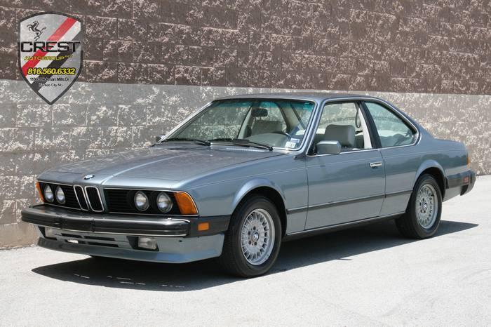 1987 BMW 6 Series L6