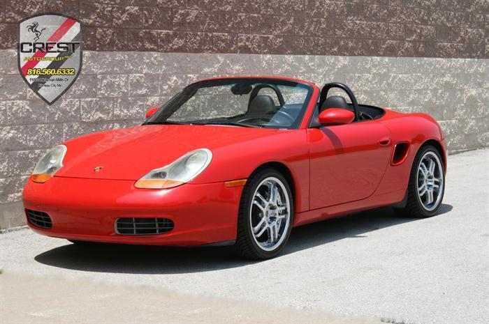 2000 Porsche Boxster 2.7L