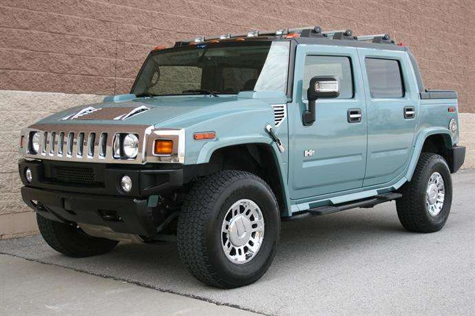 2007 Hummer H2 Glacier Blue limited edition