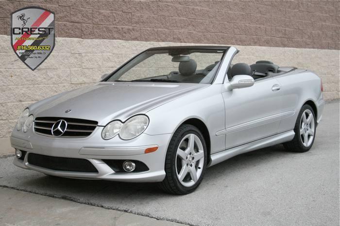 2006 Mercedes-Benz CLK-Class 5.0L