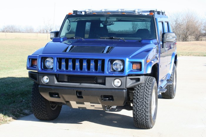 2006 Hummer H2 Pacific Blue Limited Edition SUT