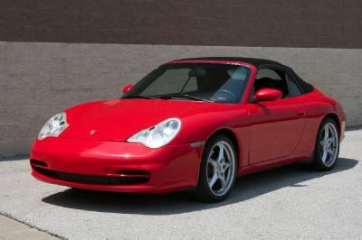 2003 Porsche 911 Carrera C4 Cabriolet