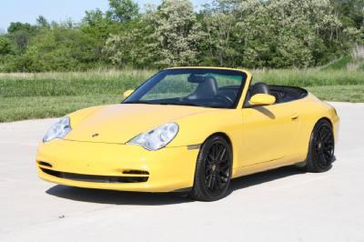 2002 Porsche 911 Carrera C2 Cabriolet