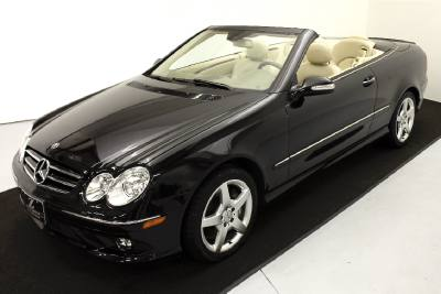 2007 Mercedes-Benz CLK-Class 5.5L