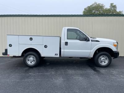 2011 Ford Super Duty F-350 SRW 4x4 NEW service Utility bed Clean truck