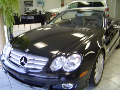 2007 Mercedes-Benz SL-Class 5.5L V8