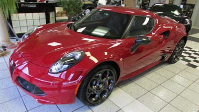 2015 Alpha Romeo 4C Coupe Launch Edition