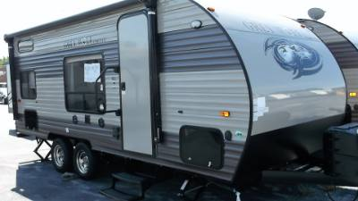 2018 FOREST RIVER GREYWOLF 17BHSE