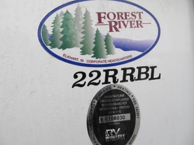 2021 Grey Wolf 22RRBL