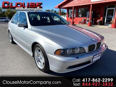 2001 BMW 5 Series 540iA 4dr Sdn Auto