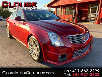 2012 Cadillac CTS-V Sedan 4dr Sdn