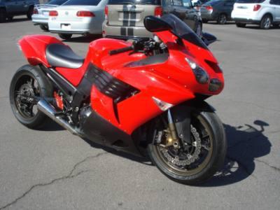 2006 Kawasaki ZX-14 Finance For Bad Credit