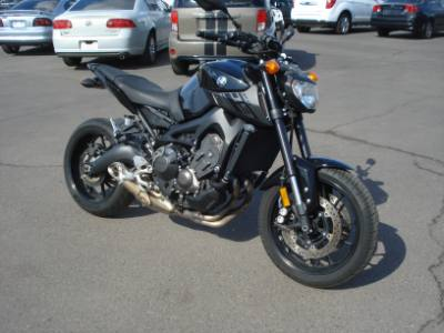 2016 YAMAHA FZ-09 EZ Payments Apply Online, Same Day Approval
