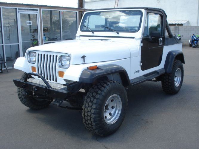 1991 Jeep Wrangler 4.0, 5spd, Lifted, Ice Cold A/C