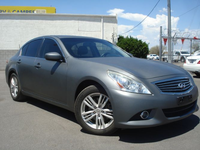 2013 INFINITI G37 Sedan Low Miles, Finance Available