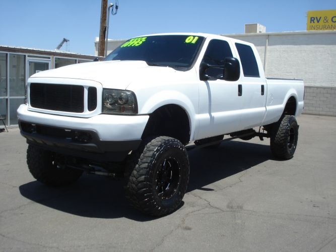 2001 Ford Super Duty F-350 SRW Lifted 7.3 Powerstroke, 1 Owner