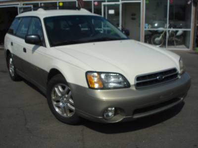 2002 Subaru Legacy Wagon Outback w/All Weather Pkg