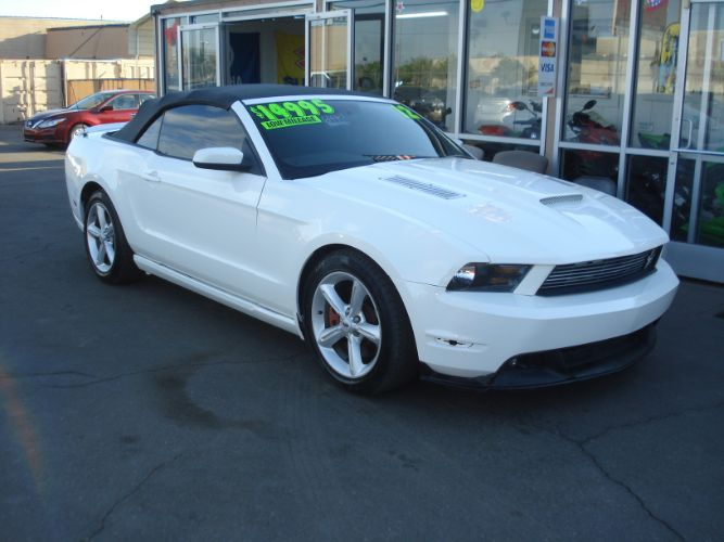 2012 Ford Mustang GT Convertible Finance For Bad Credit