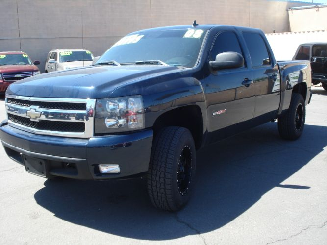 2008 Chevrolet Silverado 1500 LTZ Crew Cab 4x4, Finance Available