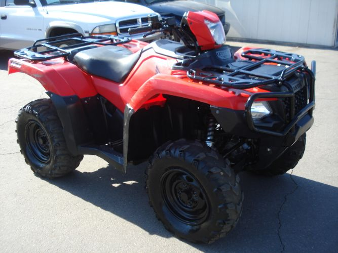 2015 Honda Trx 500 Rubicon 4x4, Power Steering, Finance Available