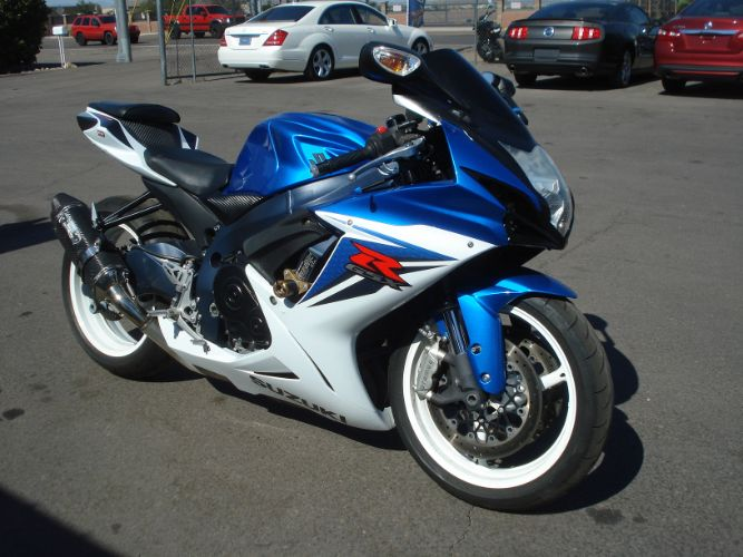 2012 Suzuki GSX-R600 payments accepted