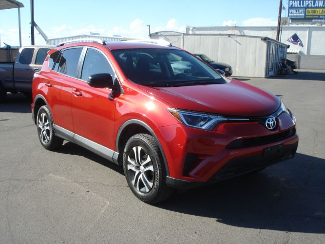 2016 Toyota RAV4 LE, Low Miles, Finance Available