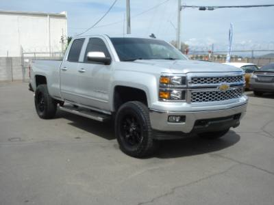 2015 Chevrolet Silverado 1500 Crew Cab 4x4 Lifted, Finance Available