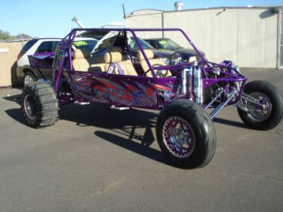 2006 Sandrail 5 Seat, LS2, 2D, Bypass Shocks, Big Stereo Custom Paint, Leather, Very Nice Sandrail