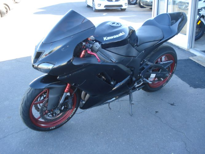 2008 Kawasaki ZX-6R BAD CREDIT NO PROBLEM LOW MONTHLY PAYMENTS