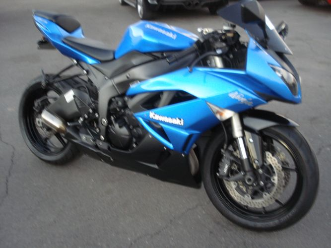 2009 Kawasaki ZX-6R FINANCE AVAILABLE FOR BAD CREDIT