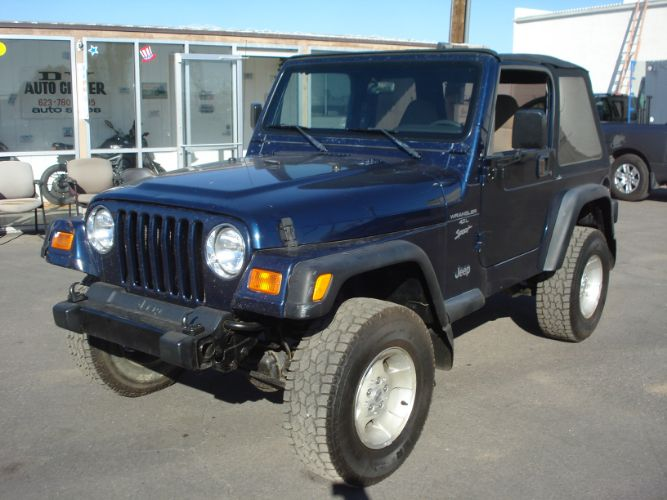 2000 Jeep Wrangler Finance For Bad Credit