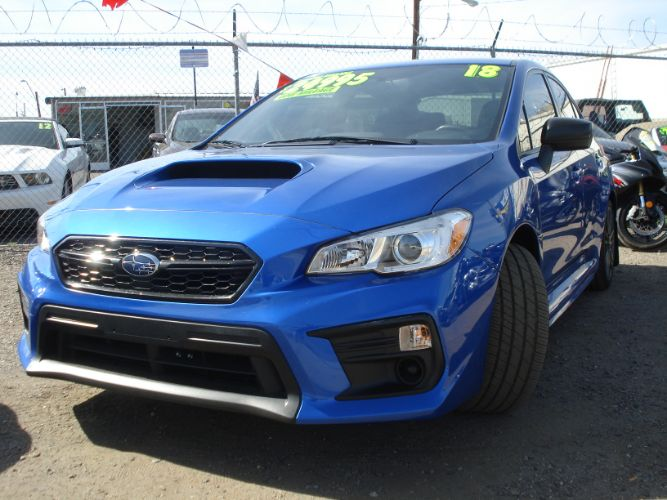 2018 Subaru WRX Finance Available
