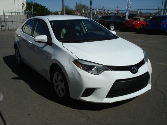 2014 Toyota Corolla Finance For Bad Credit