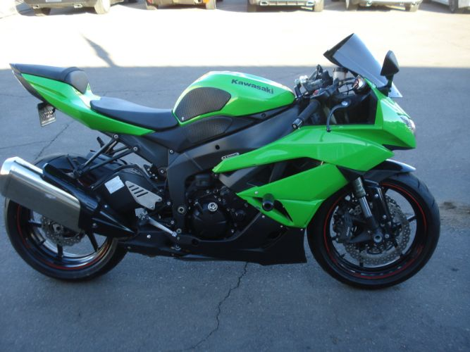 2012 Kawasaki ZX-6R FINANCE AVAILABLE FOR BAD CREDIT