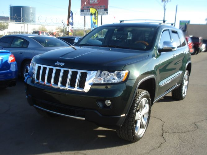 2011 Jeep Grand Cherokee Overland Finance For Bad Credit