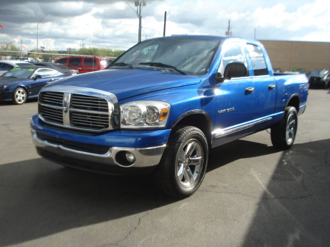 2007 Dodge Ram 1500 Quad Cab 4wd SLT, Finance is EZ Here