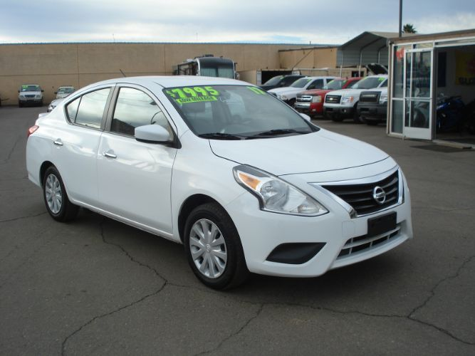 2017 Nissan Versa Sedan EZ Finance Here, Low Payments