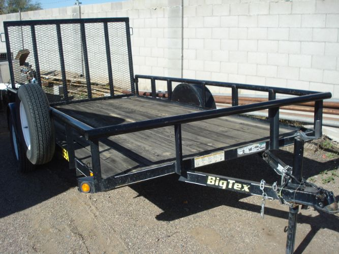 2012 Big Tex 6x12 with Ramp