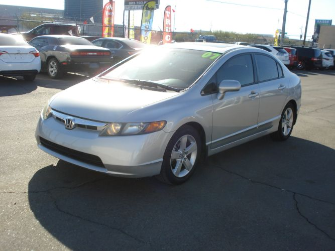 2007 Honda Civic Sdn EX model, Finance Available