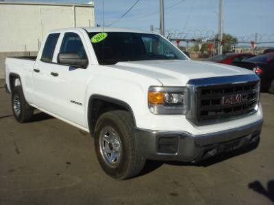 2015 GMC Sierra 1500 DB Cab, Low Miles, EZ Finance