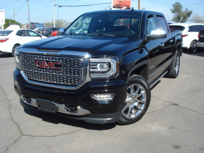 2017 GMC Sierra 1500 Denali Crew Cab 6.2, 8 Speed Auto. Loaded