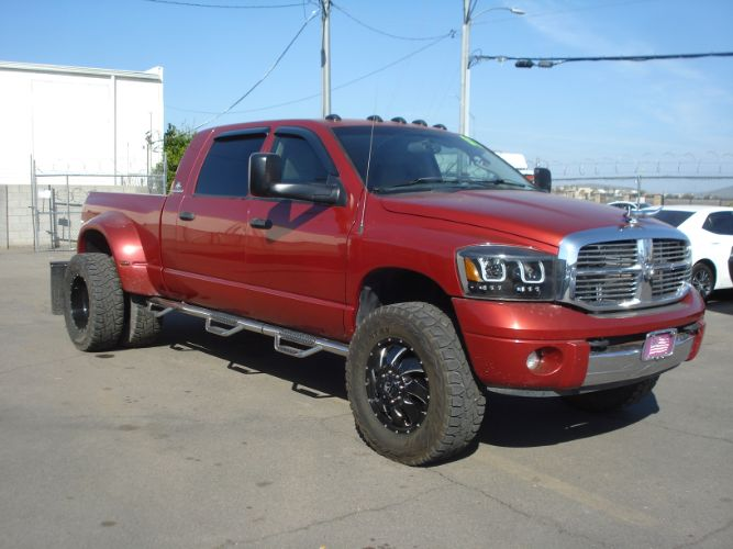 2007 Dodge Ram 3500 5.9 Cummins Mega Cab Dually, Finance Available