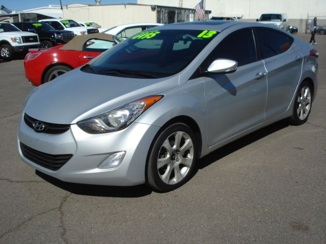 2013 Hyundai Elantra Limited Finance is EZ Here