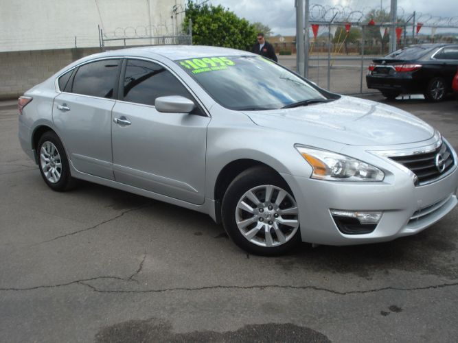 2015 Nissan Altima 2.5 S, Low Miles, EZ Finance For Bad Credit