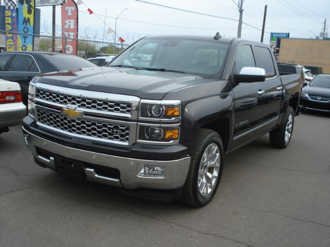 2015 Chevrolet Silverado 1500 LTZ Crew Cab, Finance Available