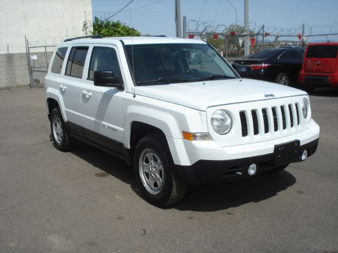 2016 Jeep Patriot 4x4 Sport, Finance Available