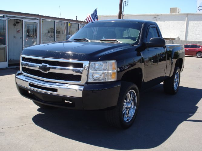 2011 Chevrolet Silverado 1500 Reg Cab Short Bed